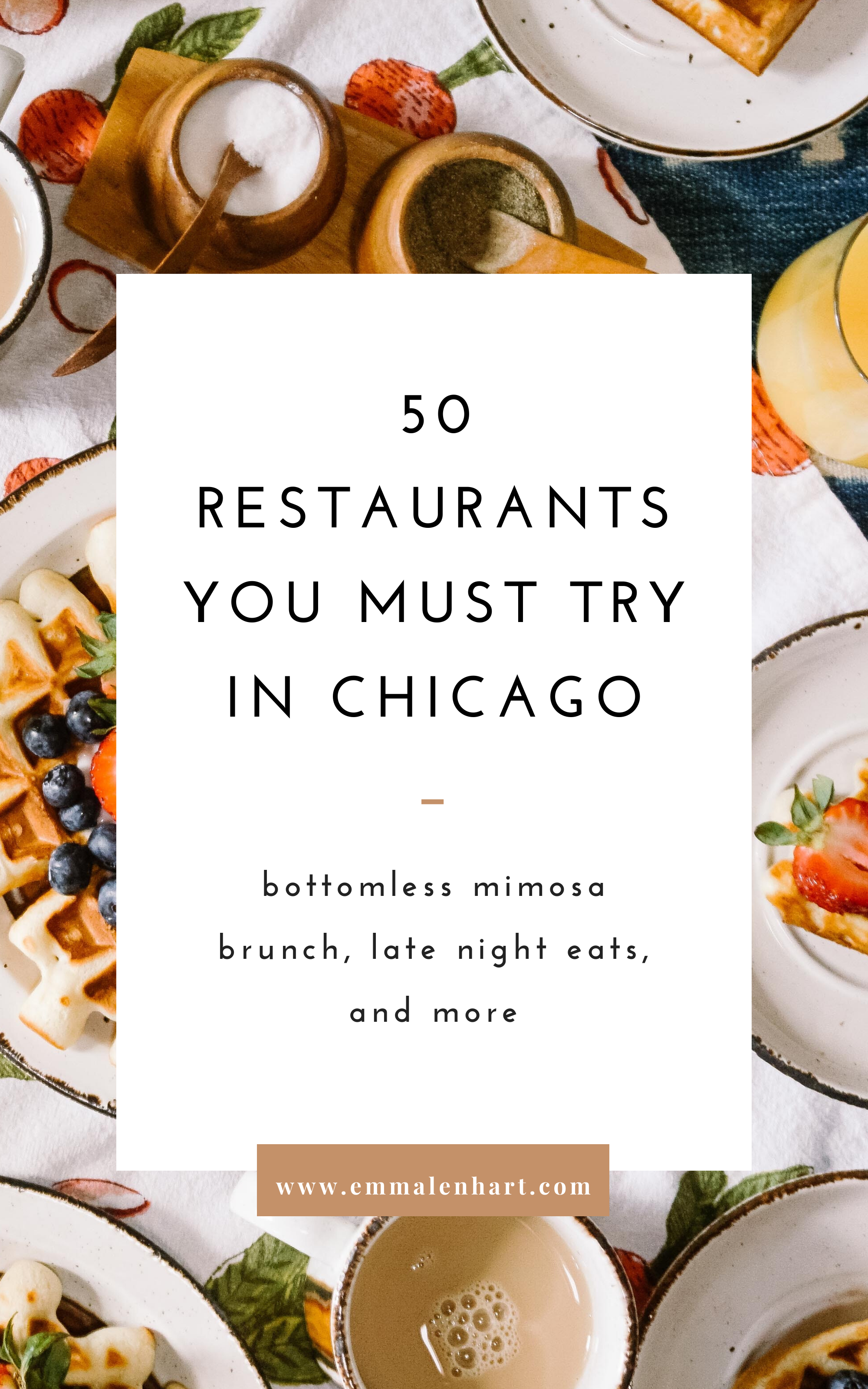 The Top 50 Restaurants You Must Try In Chicago Il In 2020 Food Guide Chicago Food Chicago Eats