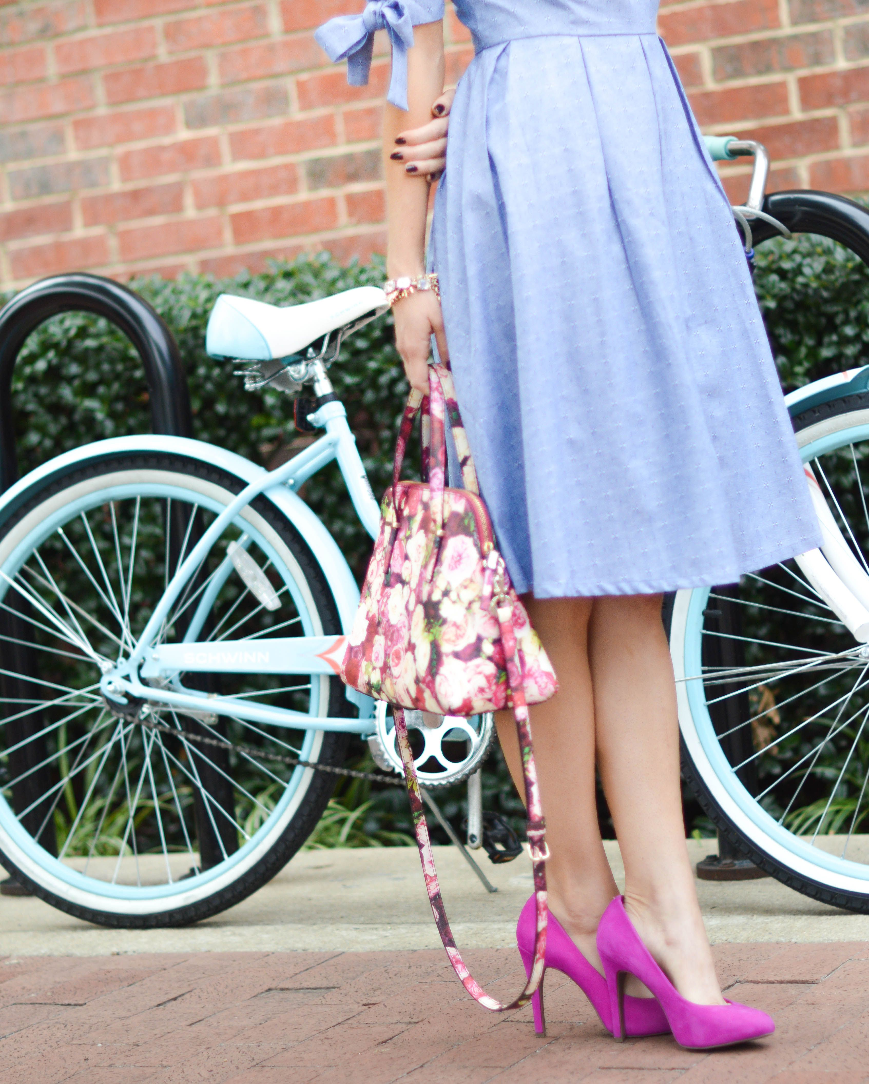 Pink and our G'day Dress with @accessoryjane