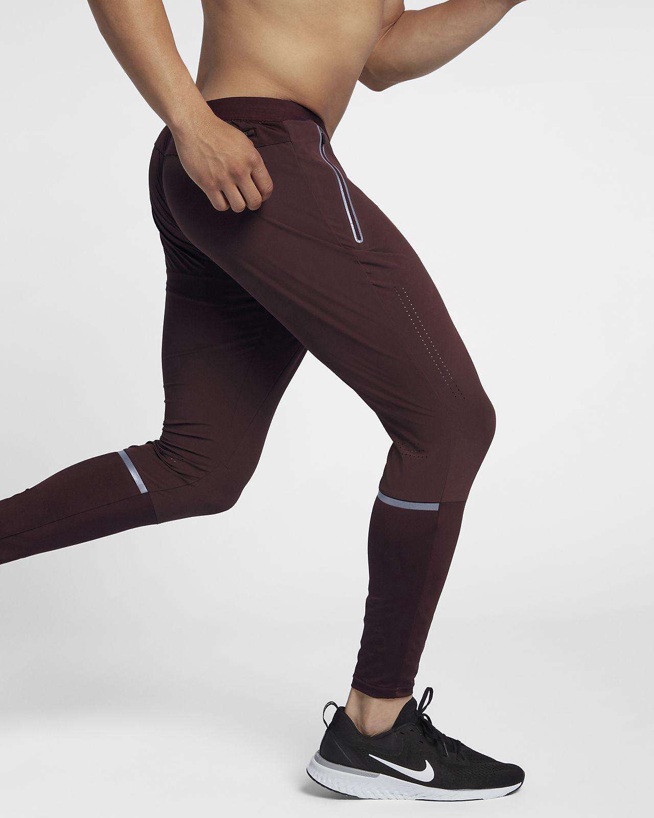 6950f4551b0b41 Nike Swift Men s Running Pants - 2XL Burgundy