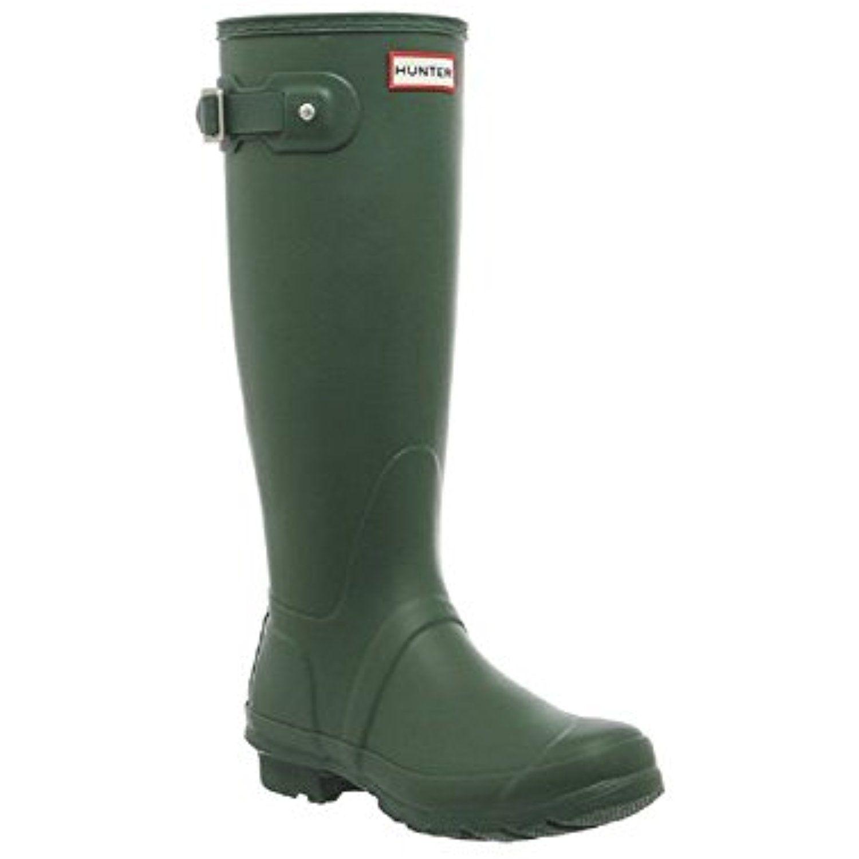 Women's Original Tall Hunter Green Boot 10