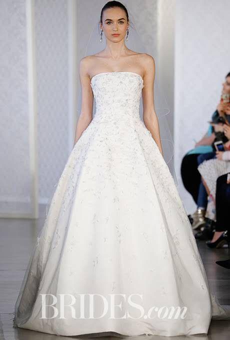 Oscar de la Renta Wedding Dresses - Spring 2017 - Bridal Fashion Week : Brides.com