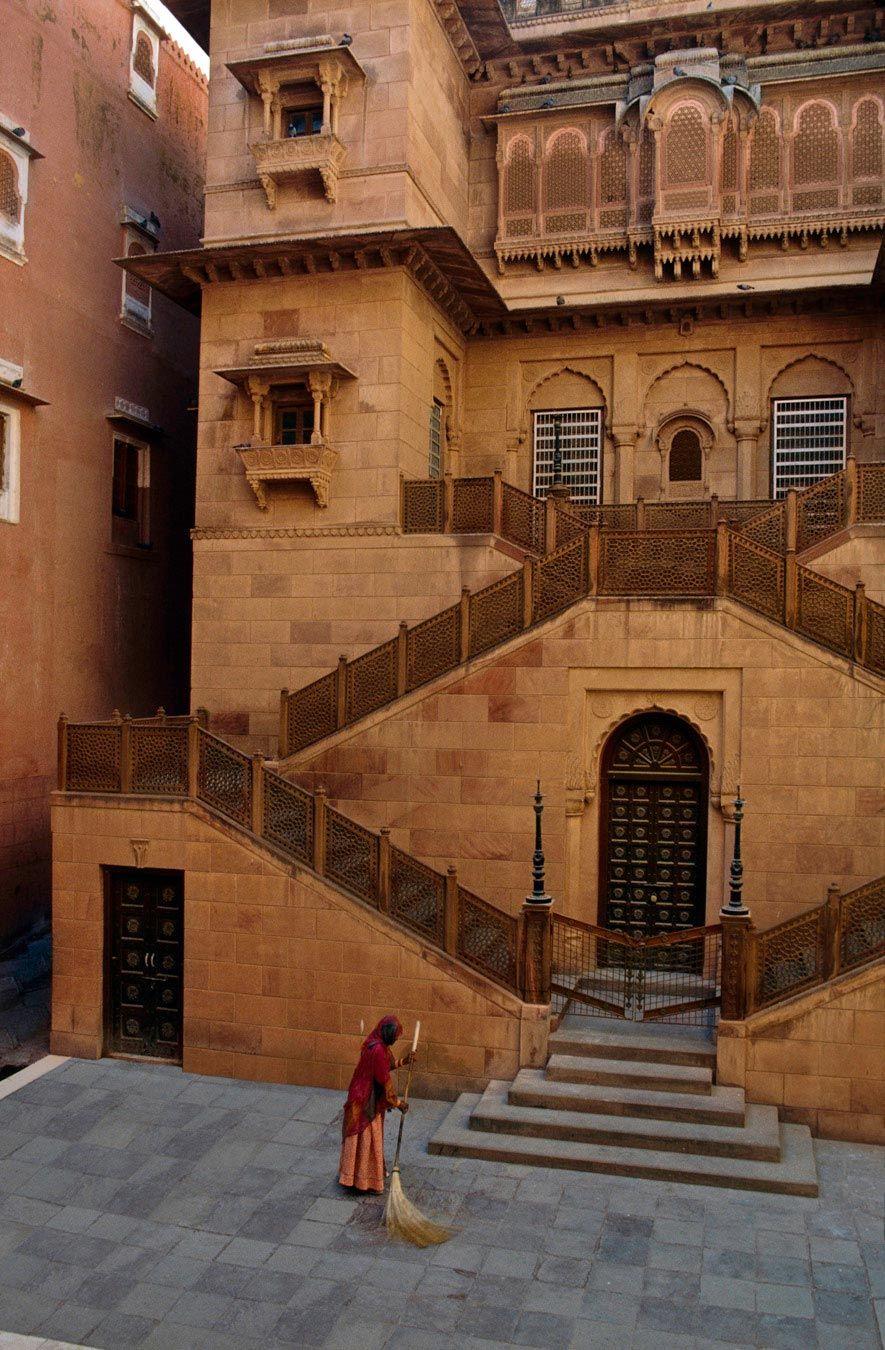 Junagarh Fort, Bikaner, Rajasthan, India  For tours arrangement