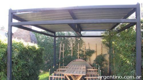 Techos para quincho techos entrada autos garaje rejas for Techos para garajes
