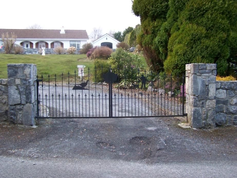 automatic gates opening outwards - Google Search