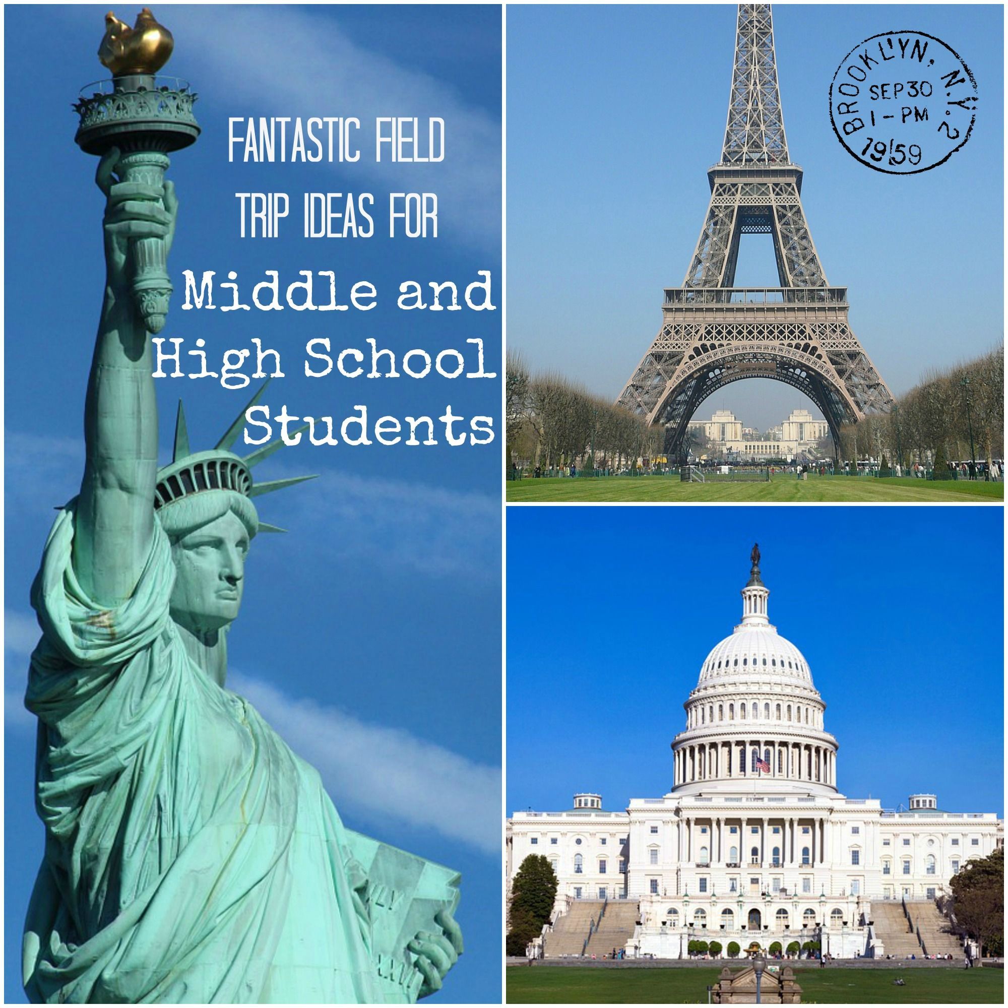 Field Trip Ideas For Middle And High School Students