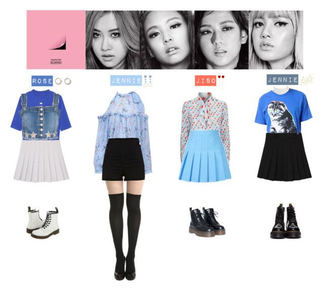 Blackpink Outfit Ideas: BLACK PINK - BOOMBAYHA💚💛💜💙 ️