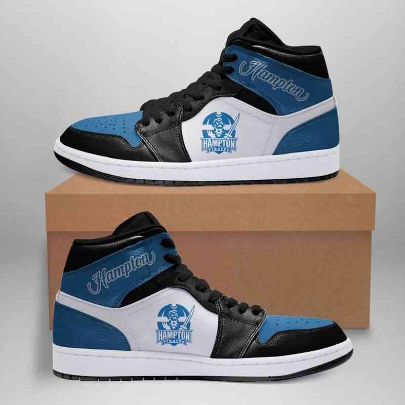 Hampton university custom air jordan shoes in 2020 air