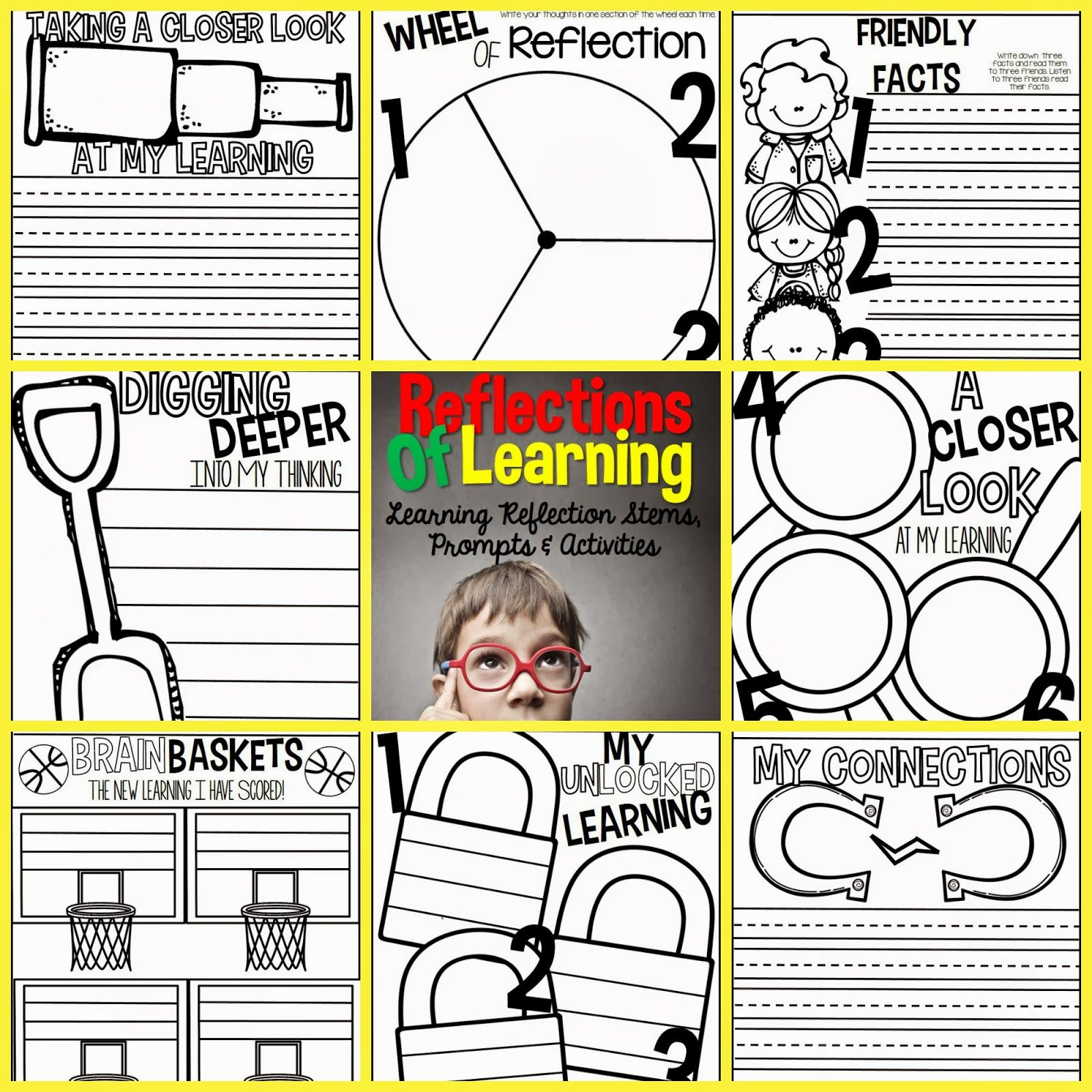 Ways To Get Students To Reflect On Learning Cute