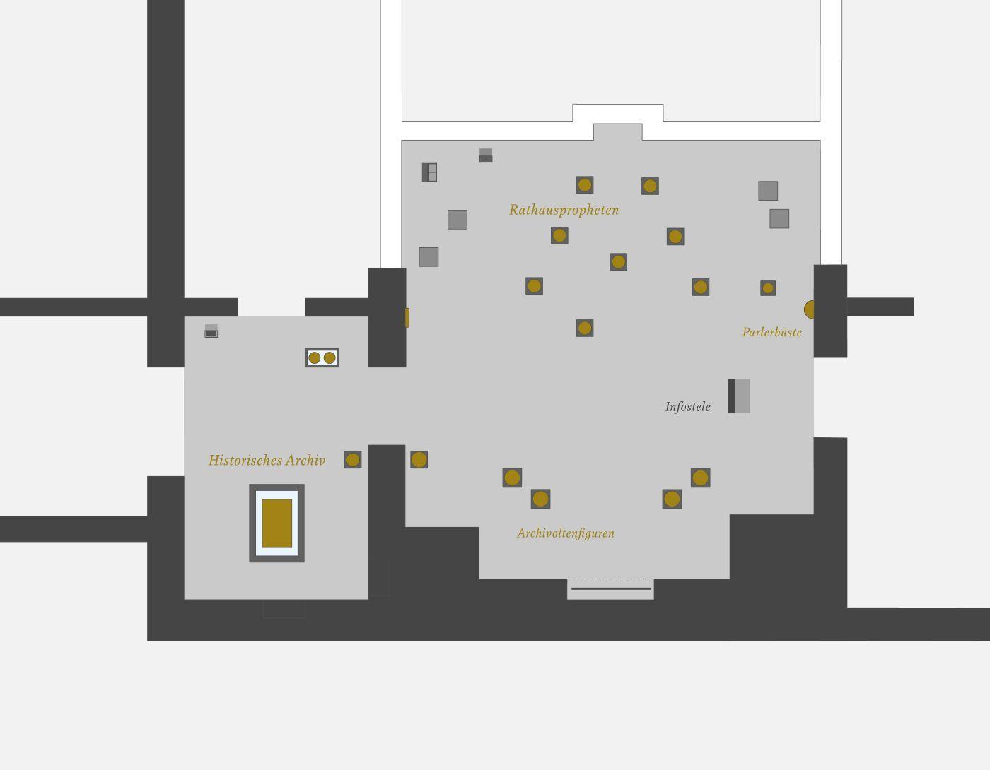 chezweitz   Museum Schnütgen IM FOKUS. Die Kölner Rathauspropheten. Skulptur um 1400 für Bürgerschaft und Kirche - Museum Schnütgen, Köln