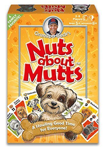 amazon grandpa beck's nuts about mutts card game  a