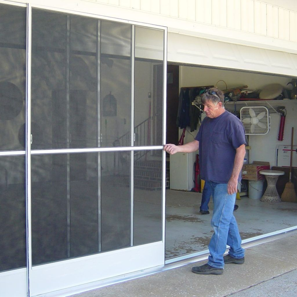 Sliding Garage Door Screen Panels httpthefallguyeditingcom
