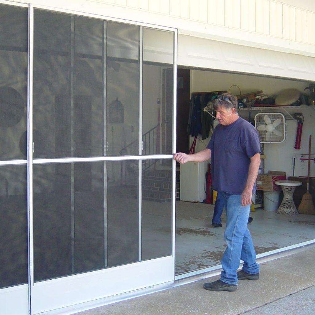 Garage Door Sliding Screen Kit Garage Screen Door Sliding