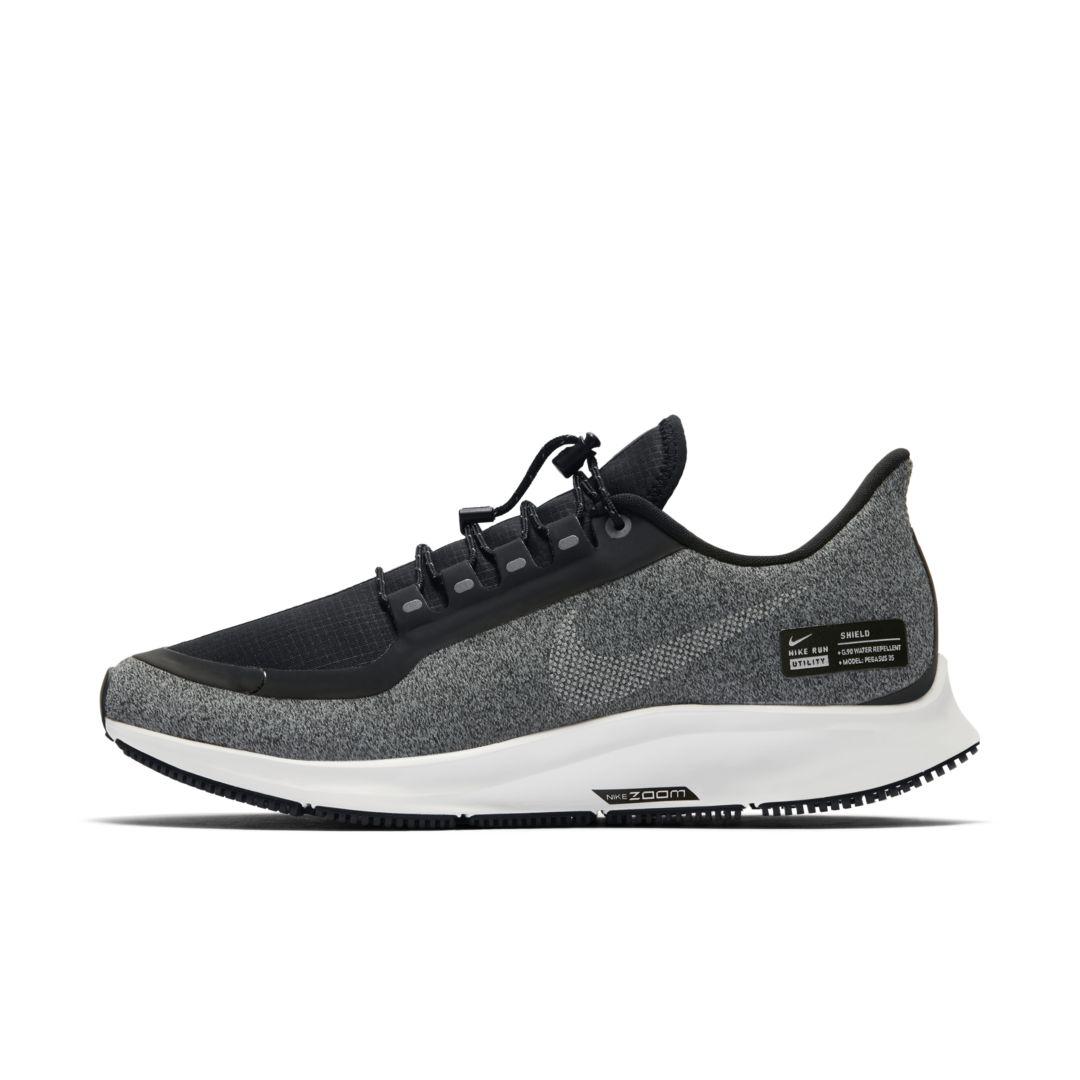 cbe21b168fa Nike Air Zoom Pegasus 35 Shield Women s Running Shoe Size 9.5 (Black ...