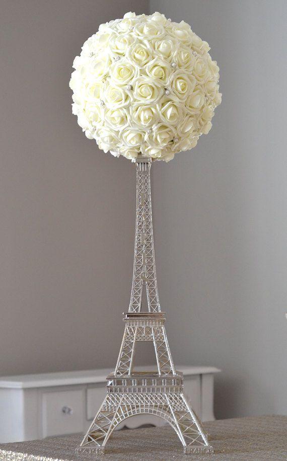 Eiffel Tower Centerpiece Set Parisians Theme Decor Paris Wedding