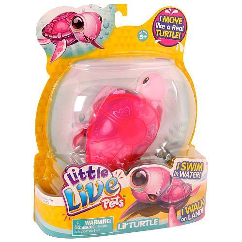 Little Live Pets Lil Turtle Single Pack Tenda Moose Toys