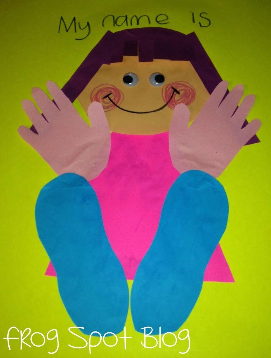 Early Number Ideas with Feet! | Preschool art activities ...