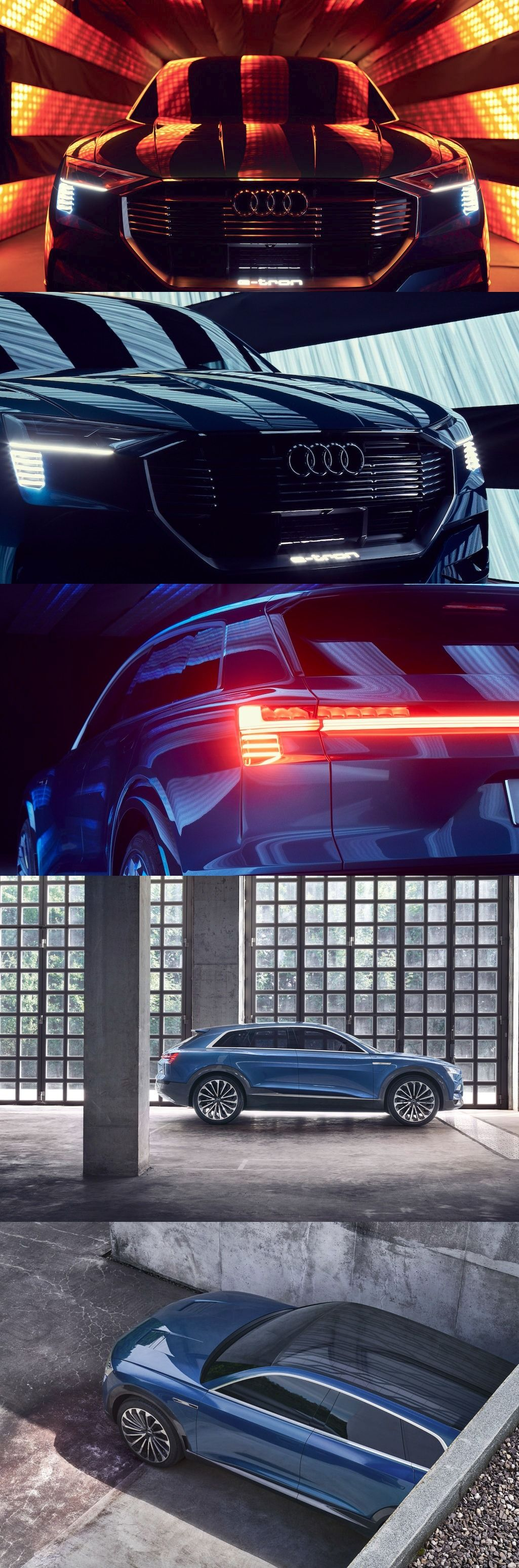 Audi E Tron Suv Unveiled With Spark Now Slated August Launch Audi Electric Cars Audi E Tron