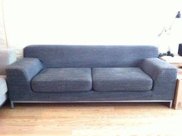 Rare Ikea Kramfors 3 Seater Fabric Sofa
