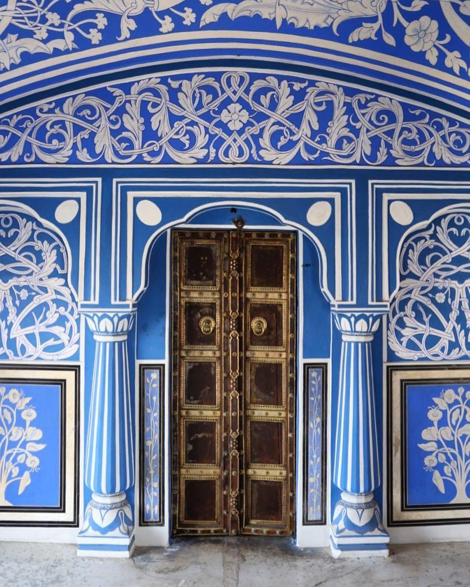 City Palace Jaipur India Katie Armour Taylor City Palace Jaipur Beautiful Doors Blue City