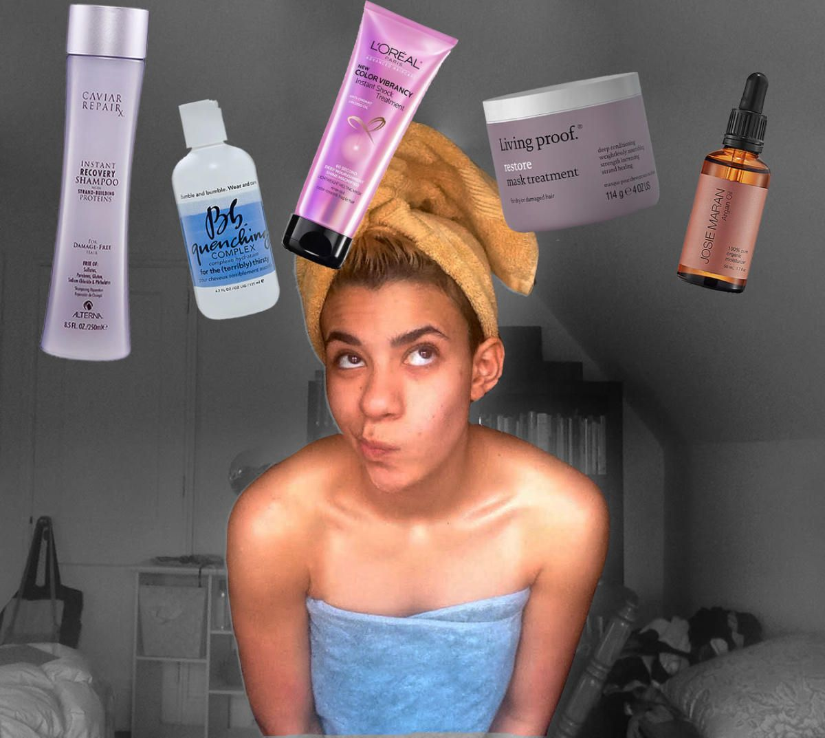 how to repair chemically damaged curly hair