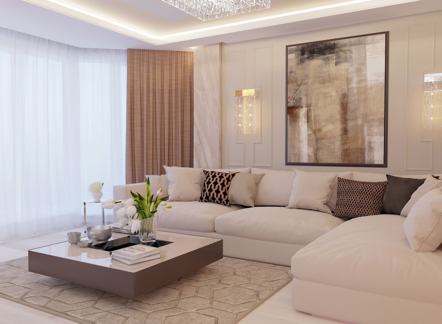 34 Excellent Contemporary Living Room Decor Idea Try for You images