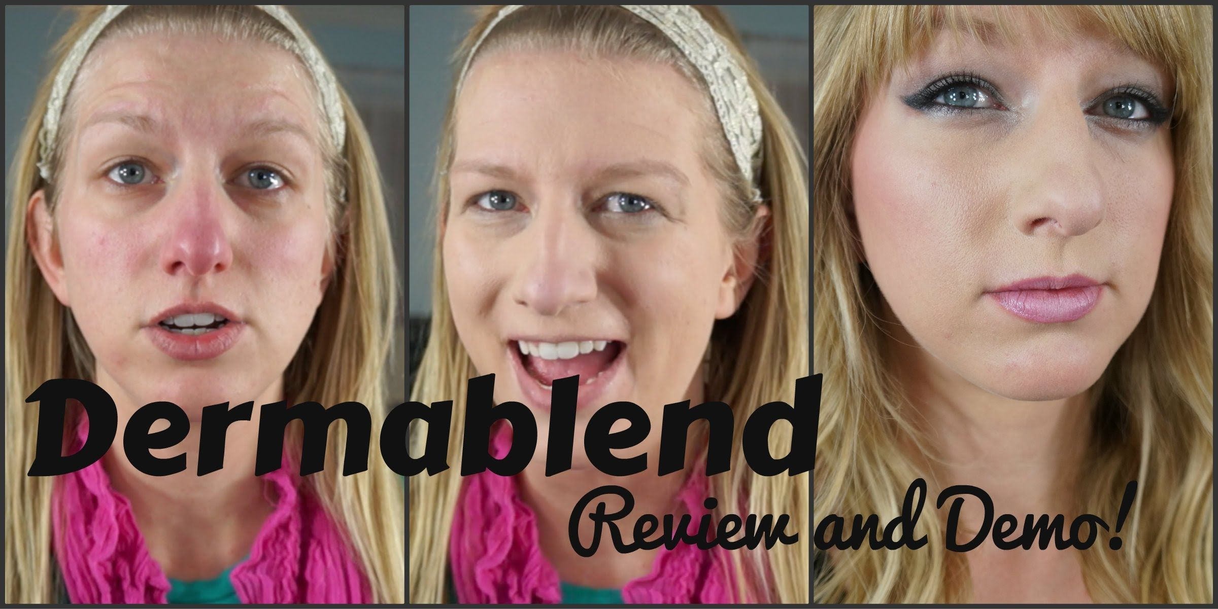 Dermablend Review and Demo Foundation for Acne and
