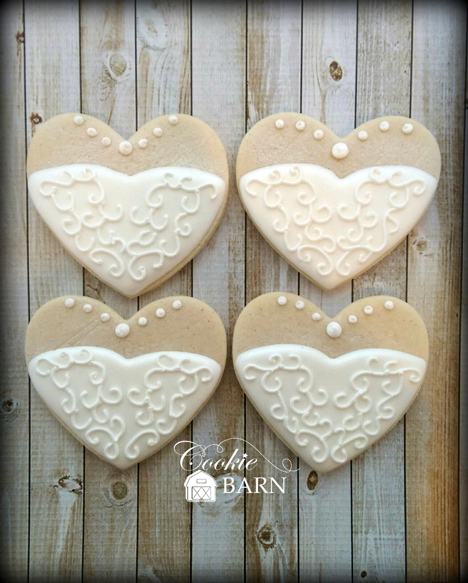 Wedding Gown Decorated Cookies. Perfect for that bridal Shower ...