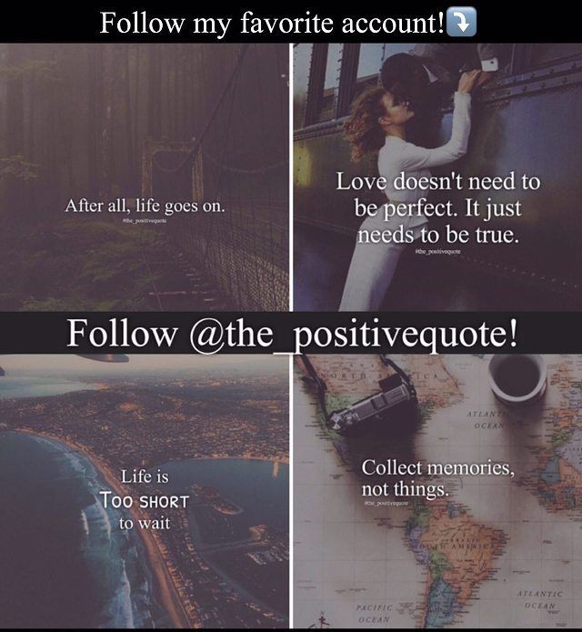 I highly recommend you to follow @the_positivequote Great page with a positive message.  - Go follow @the_positivequote @the_positivequote For more great content!!