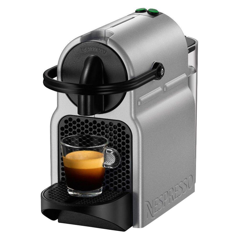 Nespresso Inissia Espresso Machine by De'Longhi Silver