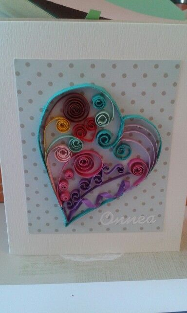 Quilled heart by quilling