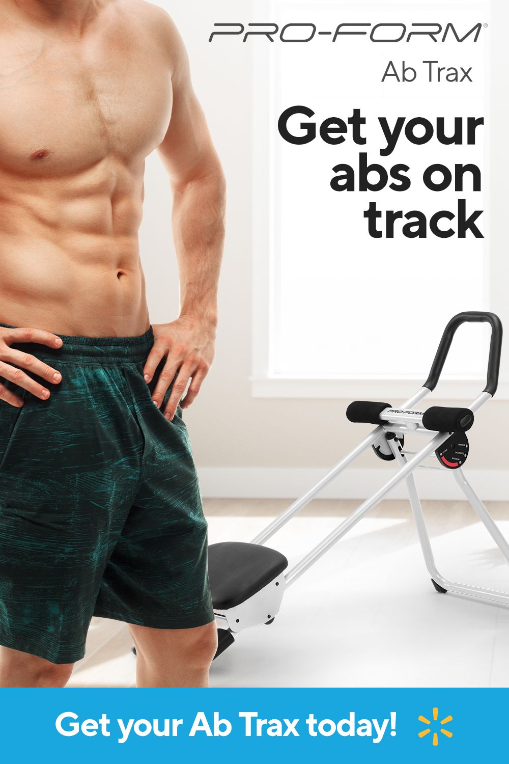ProForm Ab Trax Core Trainer with Included Exercise Chart