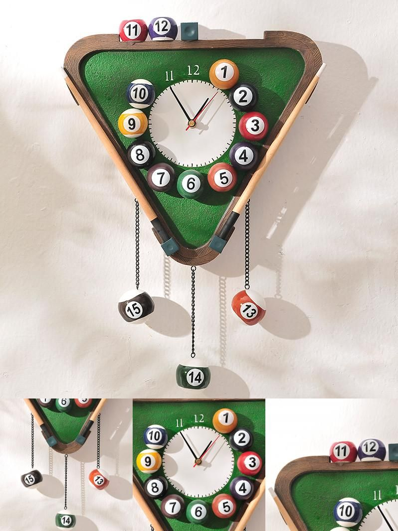 Billiards wall clock choice image home wall decoration ideas visit to buy wall clock modern design continental creative visit to buy wall clock modern design amipublicfo Images