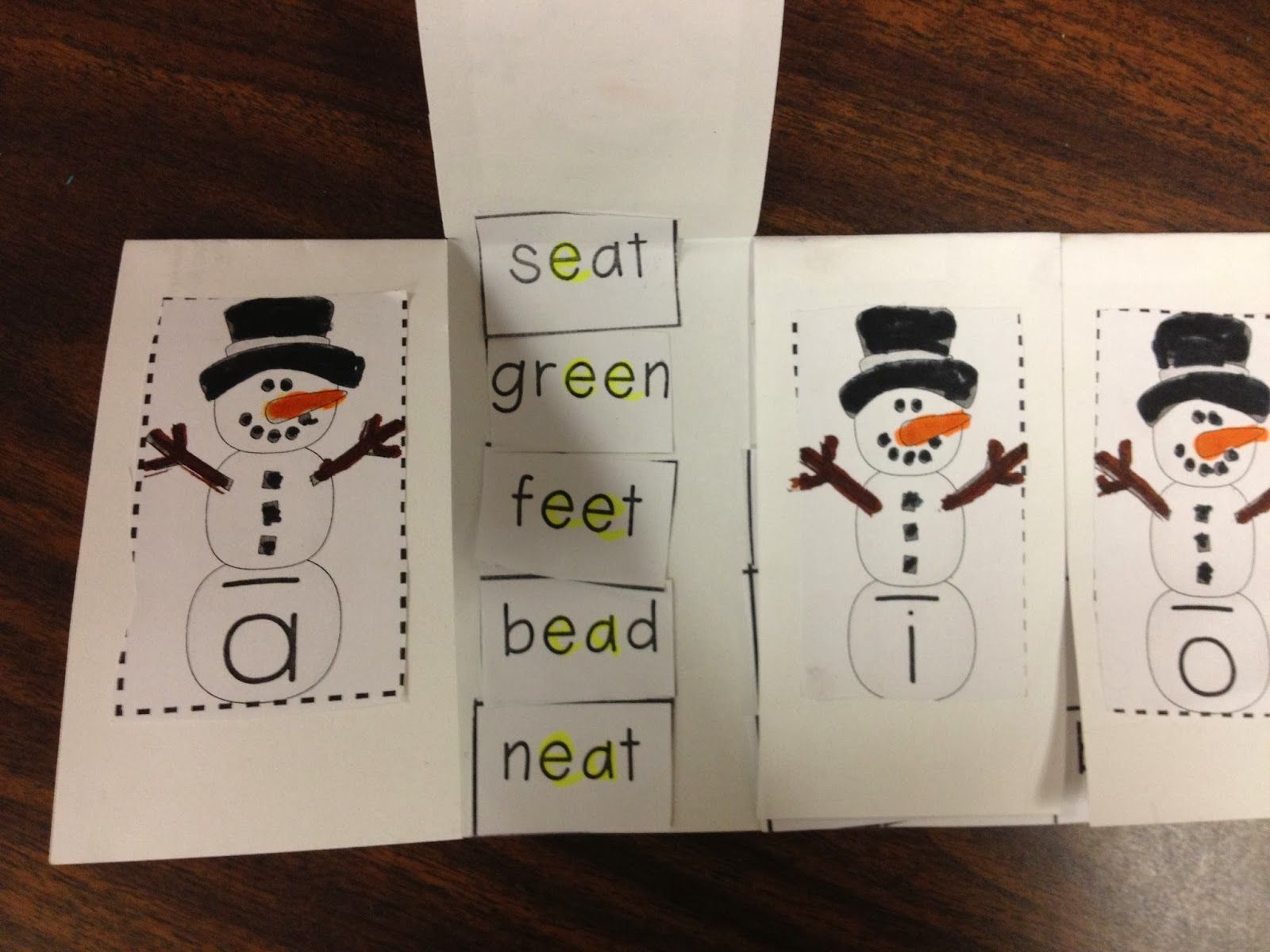 Students Sort The Words By Long Vowel Sound Highlight The Vowel Team Or Silent E Vowel Pattern