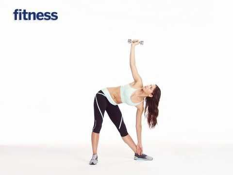 the windmill arm workout  yoga pilates fitness  ab