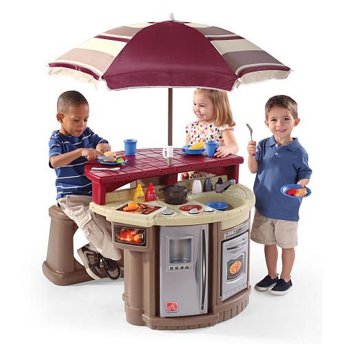 Where To Buy Cafe Kid Furniture: Carsens Christmas Gift. Step2 Grill And Play Patio Cafe
