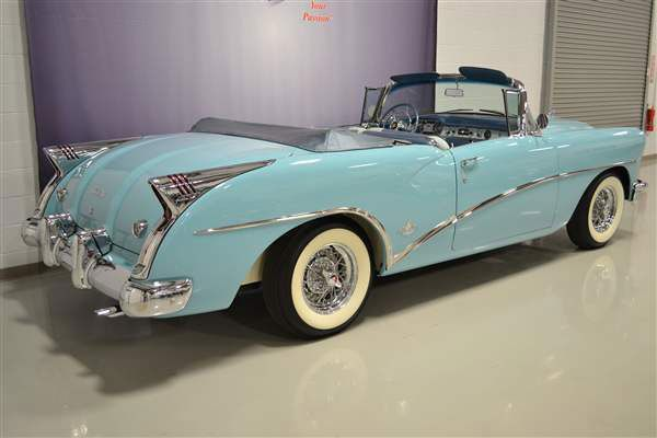 1954 buick skylark convertible rear cars that get our. Black Bedroom Furniture Sets. Home Design Ideas
