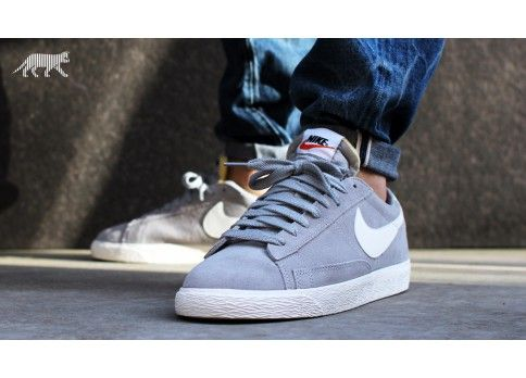 sports shoes 0f40b cdedf Nike Blazer Low Premium Vintage (wolf grey   sail)