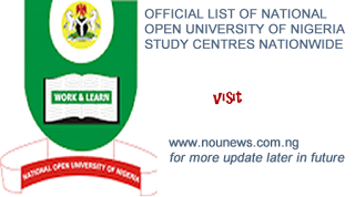 Official Lists Approved Noun Study Centres With Addresses Emails