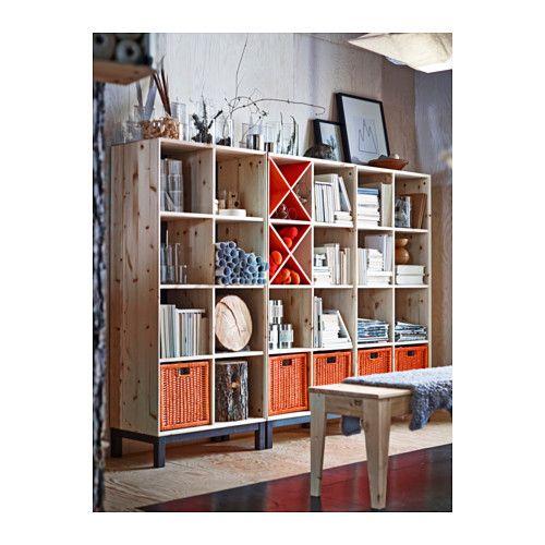 NORNÄS Bücherregal - IKEA | schöner Arbeiten | Pinterest | Bench ...