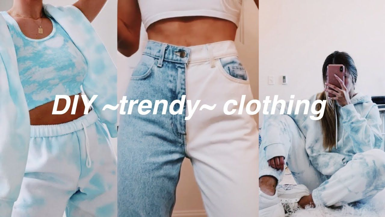 Diy Trendy Clothes Tiktok Inspired Trendy Outfits Clothes Diy Sewing Clothes