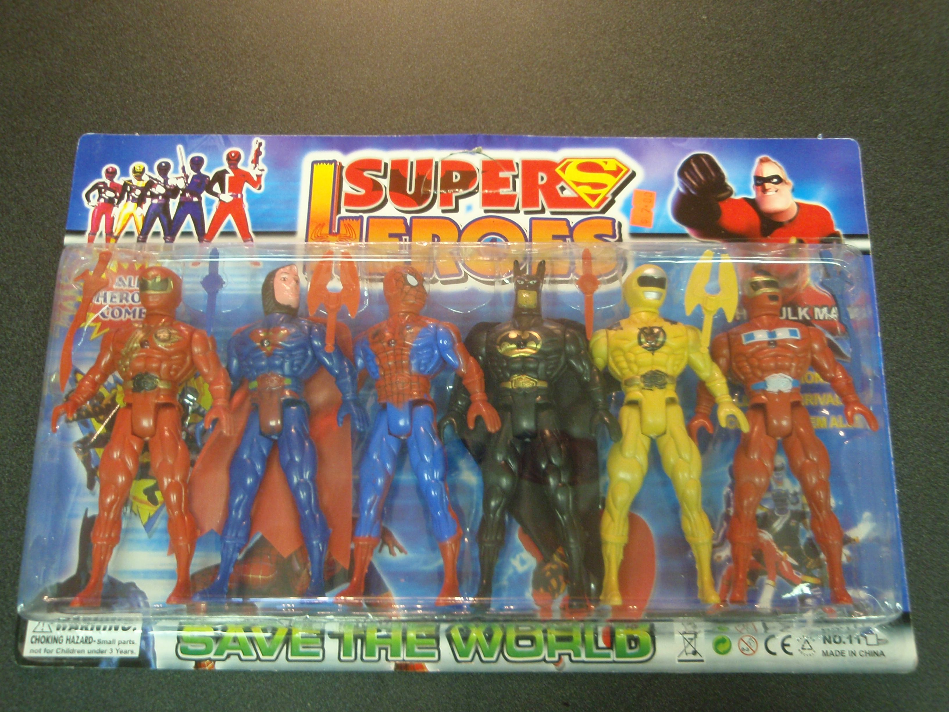 Poor People Toys : Bootleg toys the worst power rangers figures
