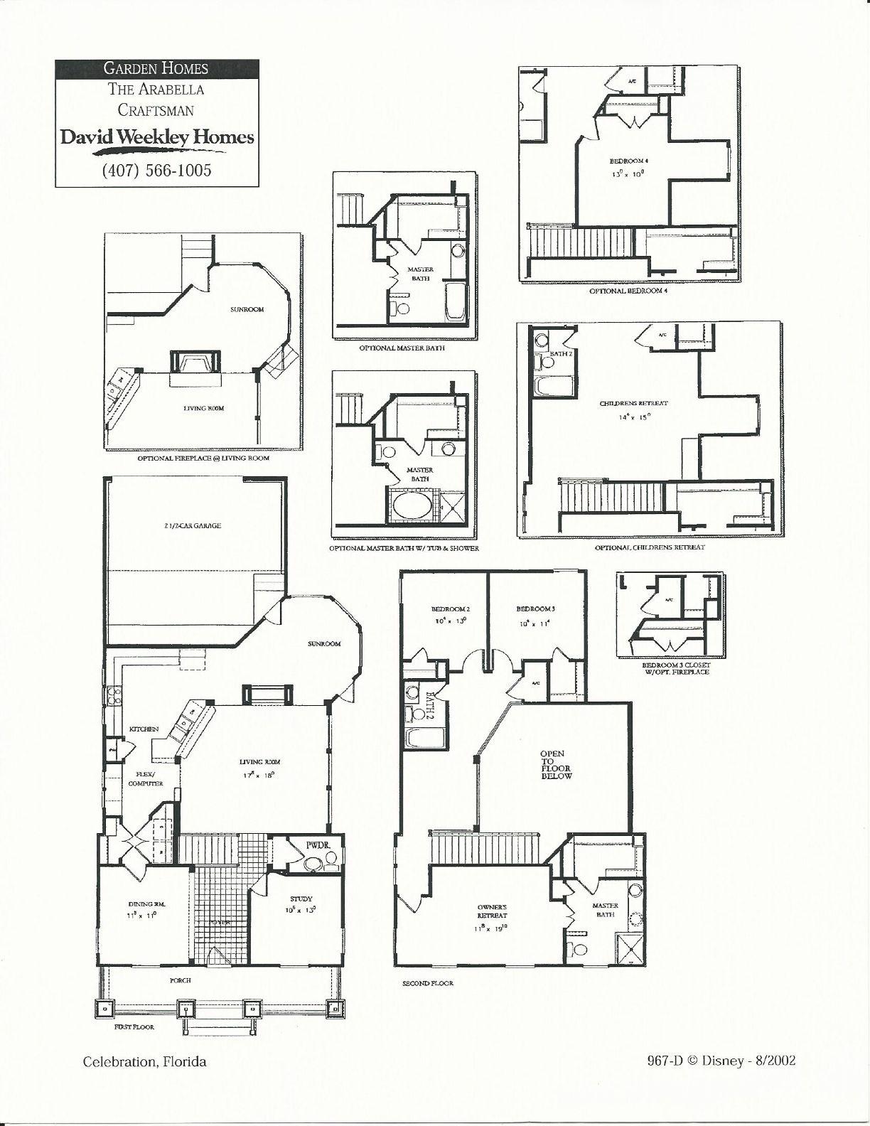 Arabella Craftsman Floor Plans In Celebration Fl Manufactured Homes Floor Plans Craftsman Floor Plans Floor Plans