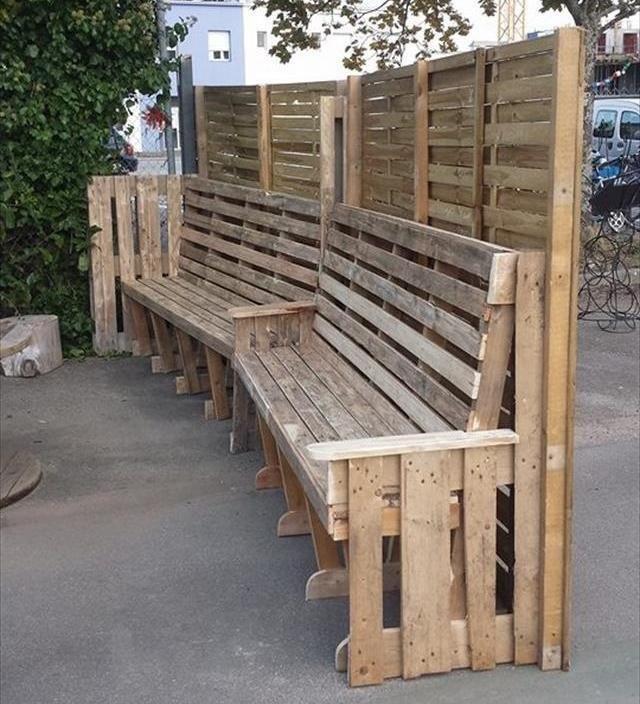 Pallet Outdoor Furniture / Outdoor Sitting | 99 Pallets