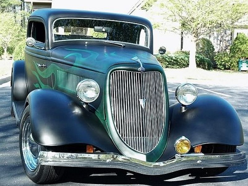 1934 Ford Coupe Old School Hot Rod Jimmy V. | Hot Rods Classic Cars ...