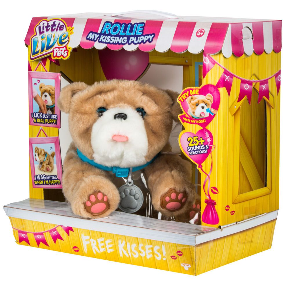 Little Live Pets My Kissing Puppy Rollie Littlelivepets Little