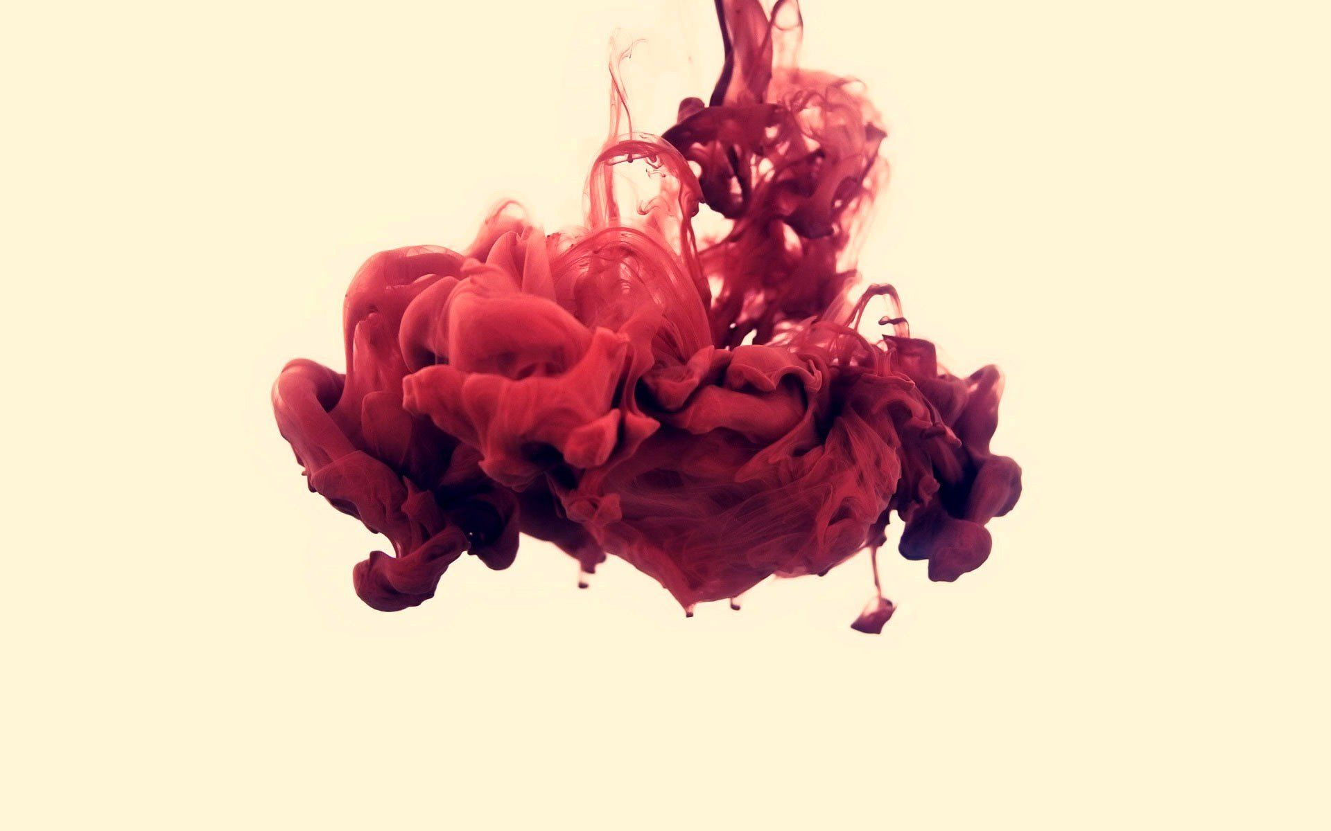 Red Liquid Wallpaper HD