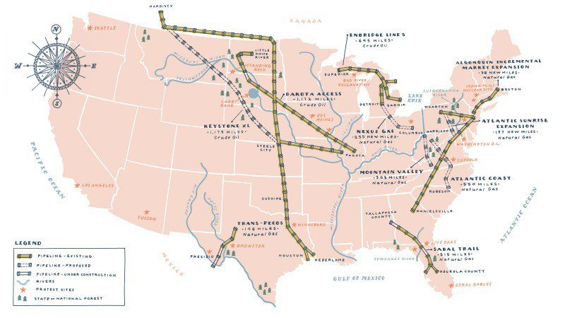 3831 Miles of Pipeline Threatening Our Public Lands Scary
