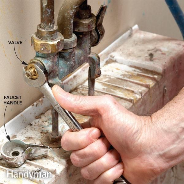 Fix A Leaking Faucet With Images Leaking Faucet Faucet Repair Faucet