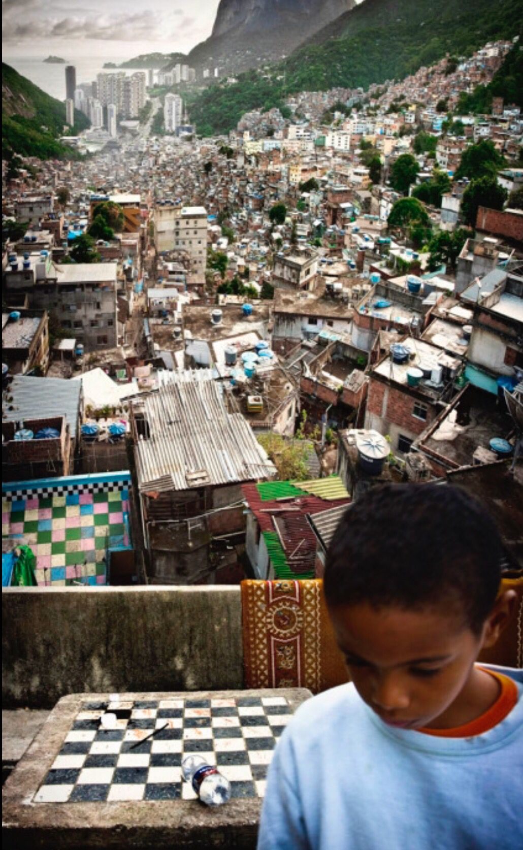 Favela Rocinha Brazilie Zuid Amerika Reizen