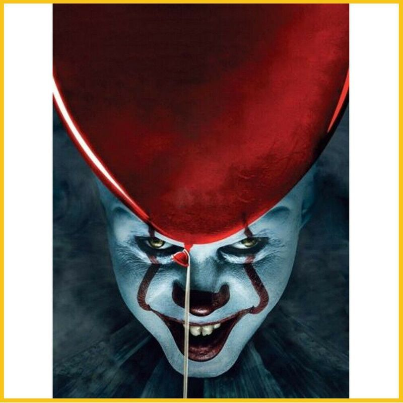 Art Print Poster Canvas Hot New 2017 IT Movie Pennywise Stephen King Horror